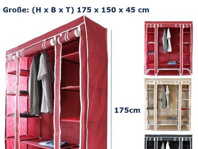 ¿Necesitas espacio en tu ropero? Mira esta oferta de un armario de tela.