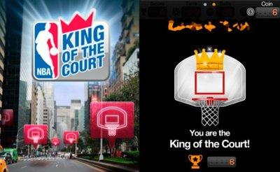 NBA: King of the Court, domina las canchas virtuales a través de la geolocalización