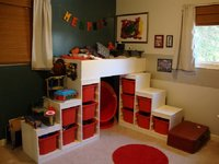 Cómo iluminar un dormitorio infantil