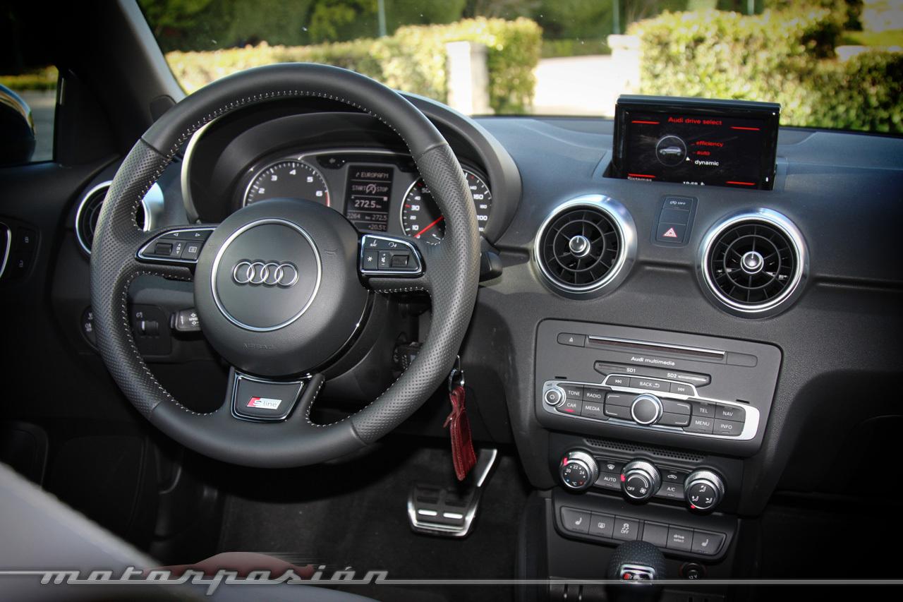 Foto de Audi A1 SportBack 1.4 TFSI CoD (prueba) (4/19)