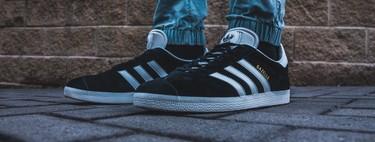 Tallas sueltas de zapatillas deportivas en oferta en Amazon: Adidas Gazelle, Reebok Classic Leather y Nike Cortez rebajadas