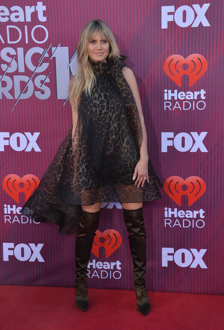 premios iheart radio music awards heidi klum