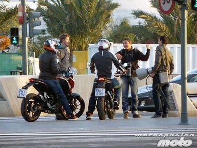 ¿Qué haría la gente de KTM el martes por Valencia?