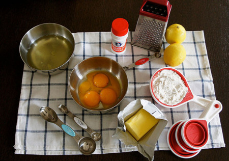 Ingredientes en una receta