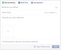 Facebook podría ayudar a los usuarios a vender productos desde grupos