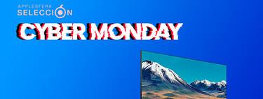 El Cyber Monday 2020 deja el televisor Samsung 55TU8505 2020 rebajado a menos de 500 euros en Amazon