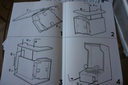 Instrucciones de montaje. Os recuerdan a algo, ¿verdad?
