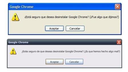 Imagen de la Semana: Chrome ruega por su vida