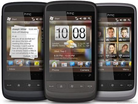 Movistar y Vodafone lanzan su primer Windows Phone. Precios del HTC Touch2 Movistar