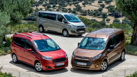 Gama Ford Tourneo (Courier, Connect y Custom), toma de contacto