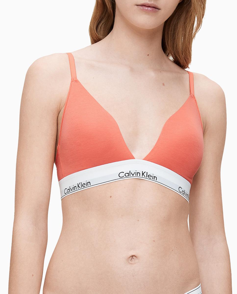 Sujetador triangular Modern Cotton preformado de Calvin Klein