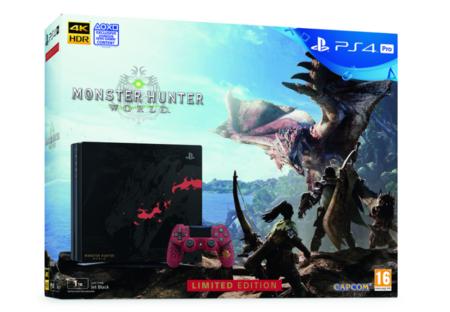 Monster Hunter World llegará a las tiendas junto con un pack muy especial de PS4 Pro