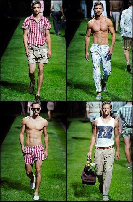 D&G, Primavera-Verano 2011 en la Semana de la Moda de Milán