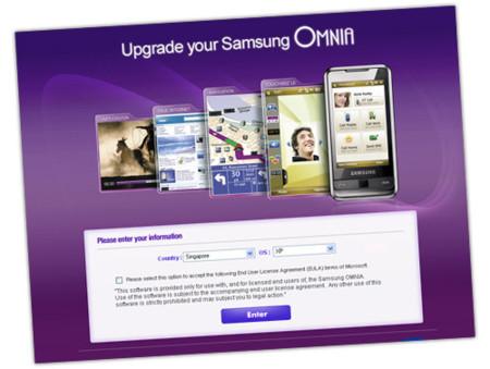 Características de la nueva ROM del Samsung Omnia en vídeo