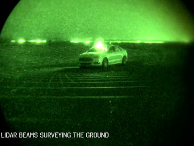Ford Nightonomy, o cómo los sensores LiDAR pueden arrojar luz en la conducción autónoma nocturna