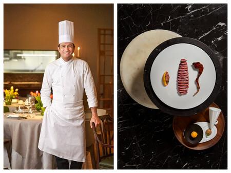 Mario Valles El Chef Del Restaurante Madrileno Hortensio Y Su Declinacion De Pichon