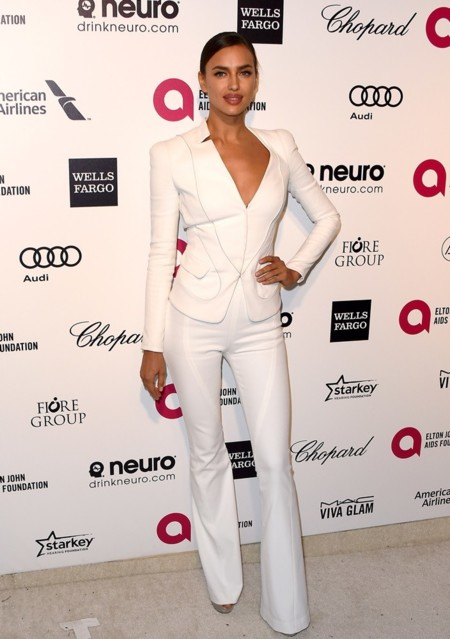 Irina Shayck en la fiesta de Elton John