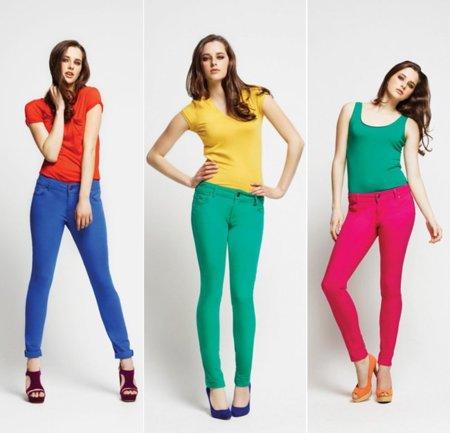 Primark color pantalón