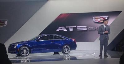 Auto Show de Detroit 2014: Cadillac ATS Coupé 2015