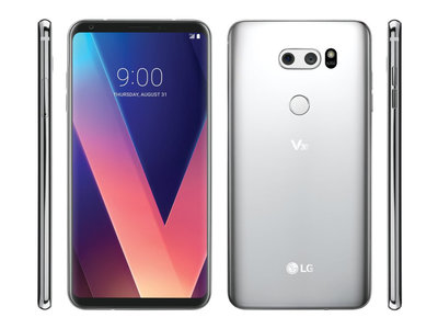 LG V30: 6 pulgadas OLED sin marcos y doble cámara para luchar por todo
