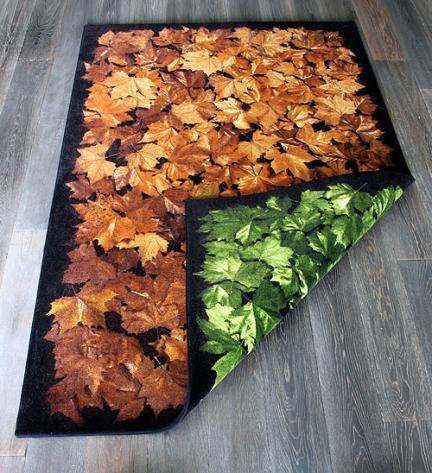 Una alfombra que cambia con las estaciones
