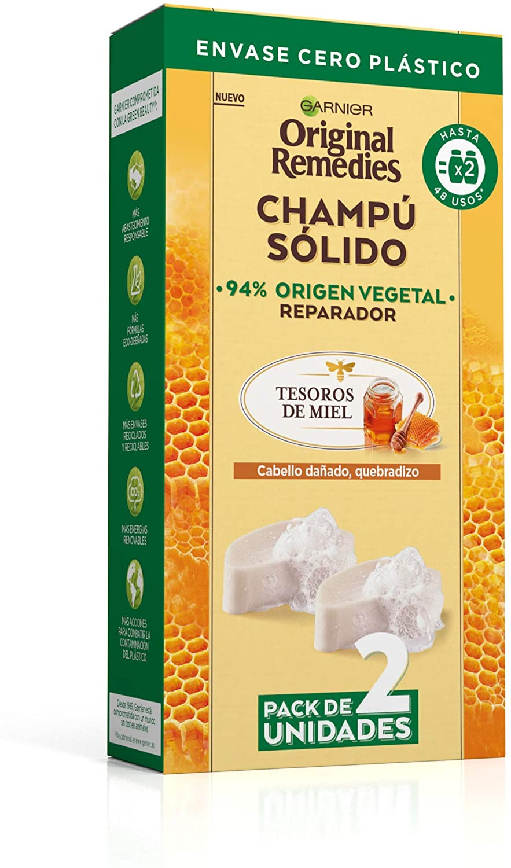 Original Remedies Pack 2 Champús Sólidos