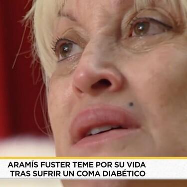 Aramís Fuster sufre inesperadamente un coma y asegura haber visto a su madre fallecida