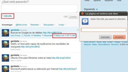 Twitter Extender añade útiles opciones al nuevo Twitter