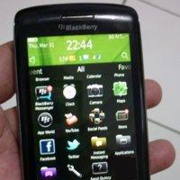 BlackBerry Touch en imágenes