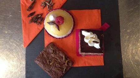 ¿Otro trocito de bizcocho con tarántula? En esta pastelería de Edimburgo podrás tomar todo el pastel con insectos y arácnidos que desees