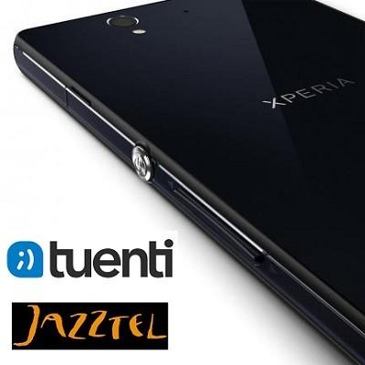 Precios Sony Xperia Z con Jazztel y Tuenti Móvil