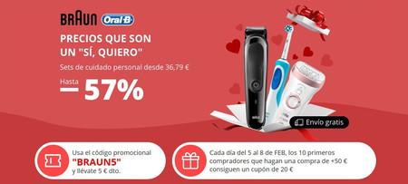 Promoción Braun en AliExpress con varios cupones de descuento de hasta 20 euros de ahorro