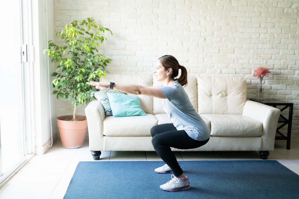 Una rutina de entrenamiento de bajo impacto en 30 minutos, perfecta si tienes problemas de rodilla o tobillos