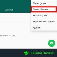 Qué es una difusión de WhatsApp y cómo crear una
