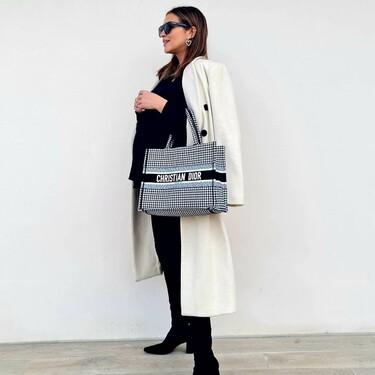 Paula Echevarría sabe que estas prendas de H&M, Primark y Stradivarius parecen de lujo con un buen bolso de Dior