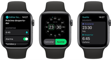 Apple Watch Sueno