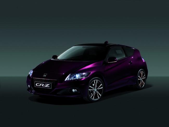 Honda CR-Z 2013 frontal 3/4