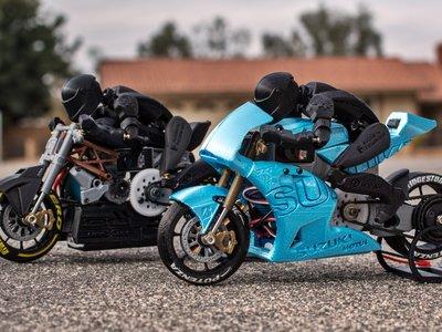 Hazte un regalo en 3D, imprimiendo en casa estas Suzuki GSX-RR y Ducati draXter