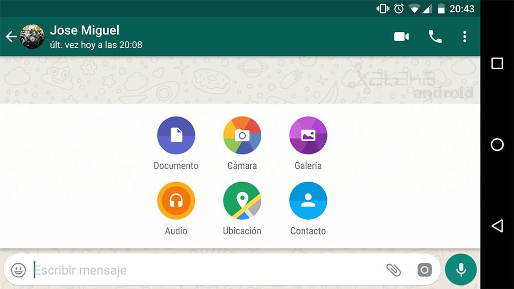 Whatsapp Compartir Contactos