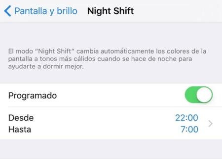 Night Shift Mode