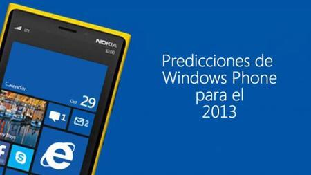 Cuatro predicciones para Windows Phone 8 en el 2013