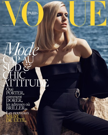 Vogue Paris: Iselin Steiro