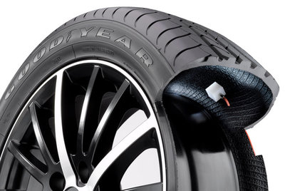 Goodyear AMT: una innovación que mantiene los neumáticos a presión correcta, en fase de pruebas