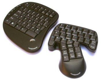 Combimouse, el teclado en dos partes