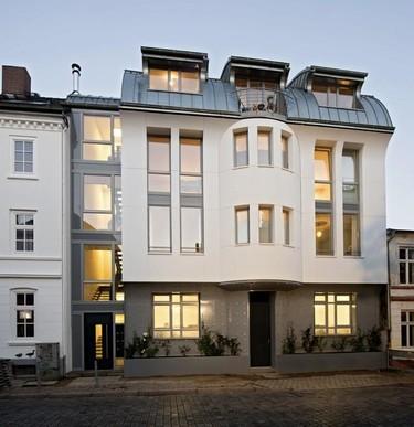 Puertas abiertas: materiales de última generación en Ice Loft en Hamburgo