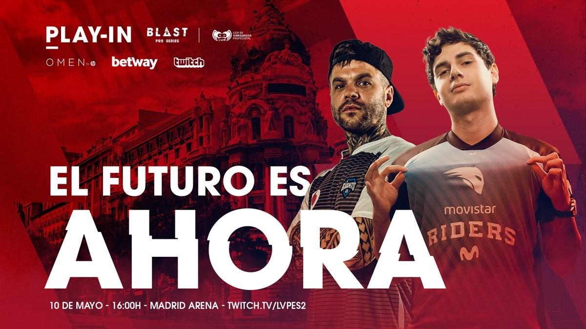 Vodafone Giants será el rival de Movistar Riders en la final del Play-In de la Blast Pro Series Madrid