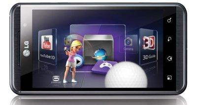 LG Optimus 3D aterriza en España de la mano de Vodafone