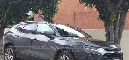 ¡Espiado! El nuevo Chevrolet Blazer ya pasea por las calles de México