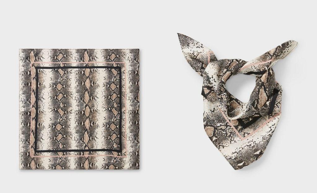 Pañuelo animal print