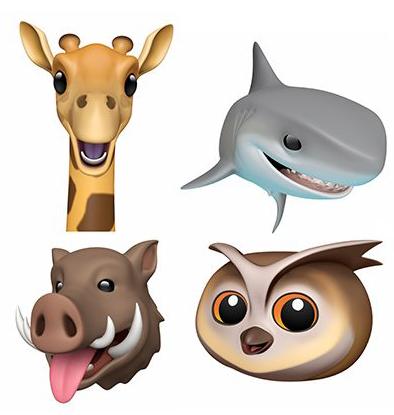 Estos son los Animojis que se estrenaron en la segunda beta de iOS 12.2